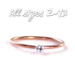 2 Tone Dot Ring